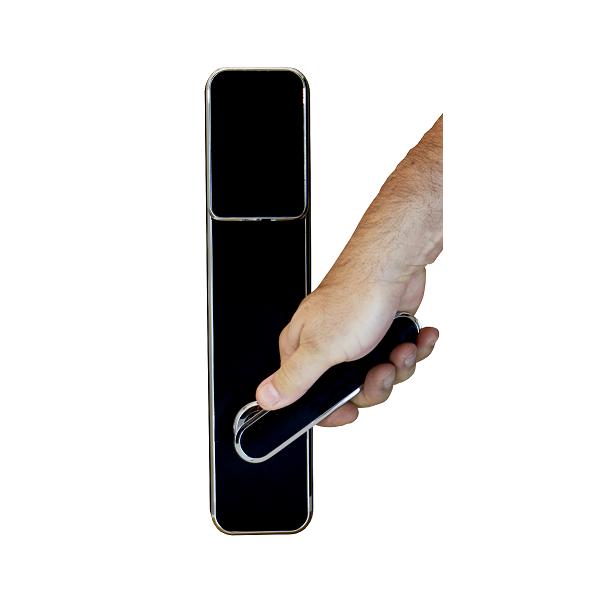 Fechadura Biométrica GR Concept LED - Preta