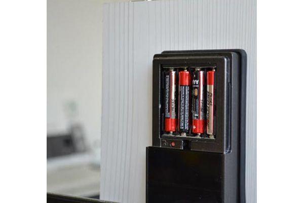 Fechadura Eletrônica G-Locks Ébano 150 - Grafite - Direita