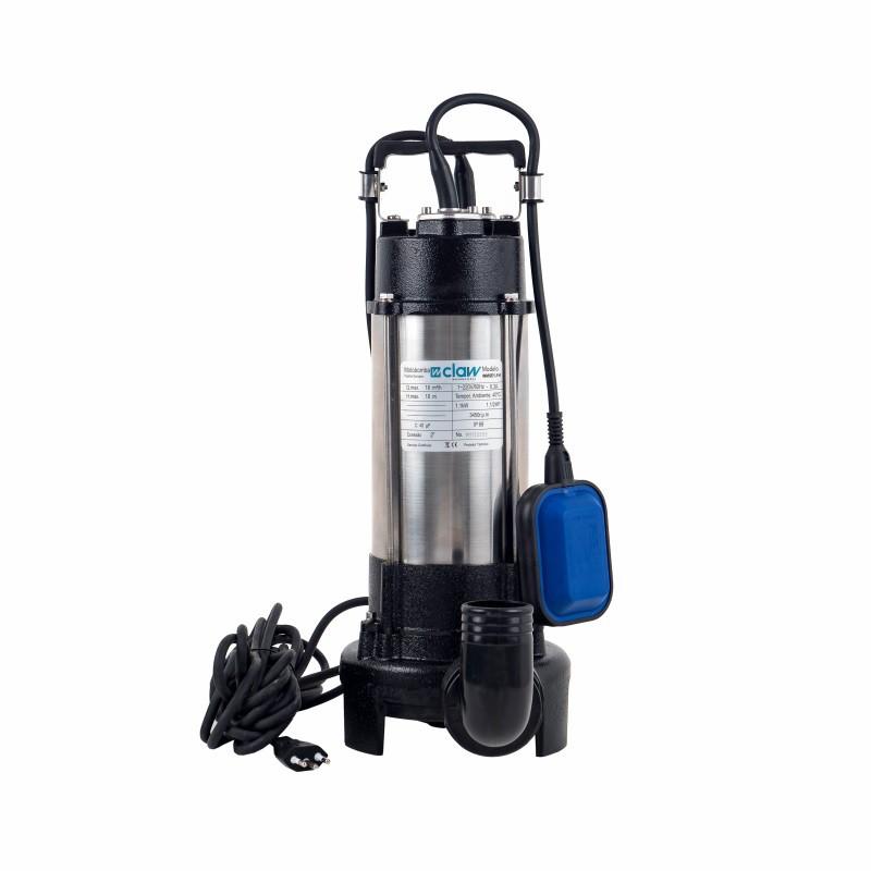 Bomba de Água Submersível de Esgoto 1,5cv 2