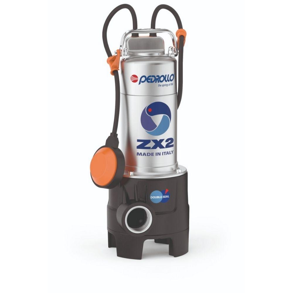 Bomba de Água Submersível para Esgoto 3/4cv 1.1/2Pol PEDROLLO - ZXm 2/30