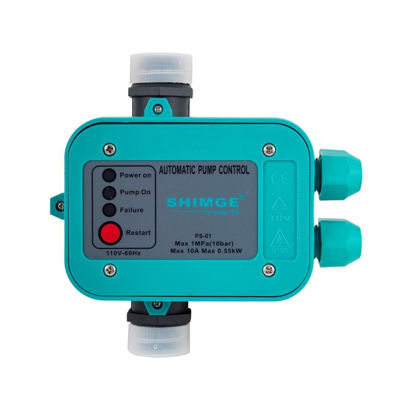 Controlador de Pressão Automático 220v Monofásico SHIMGE PS-01