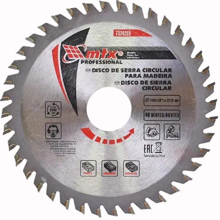 Disco Circular Widea 7.1/4 Pol. 185mm x 22mm 48 Dentes MTX 7326355