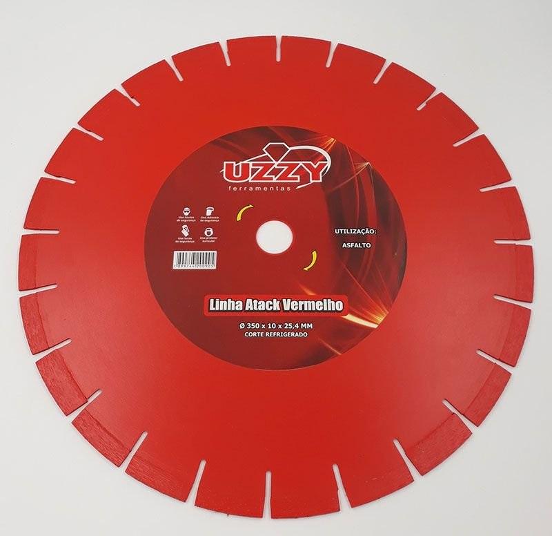 Disco Diamantado para Concreto 14 Pol. 350mm x 25mm Segmentado UZZY H3SFYGWLP