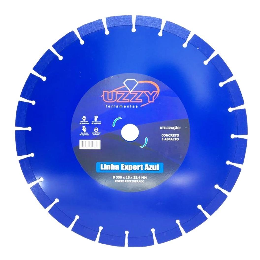 Disco Diamantado para Concreto 14 Pol. 350mm x 25mm Segmentado UZZY RXVLGFSVE