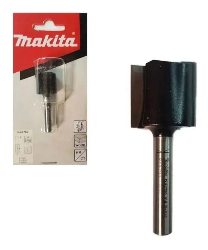 Fresa Reta 19mm para Tupia em Madeira MAKITA D-67789