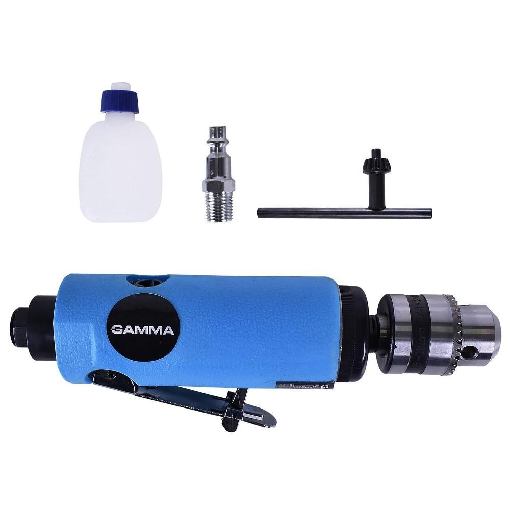 Furadeira Reta Pneumática 10mm 18000rpm GAMMA - G3189/BR