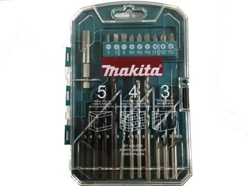 Kit de Brocas e Bits com 22 Peças de Encaixe Simples MAKITA P-44002
