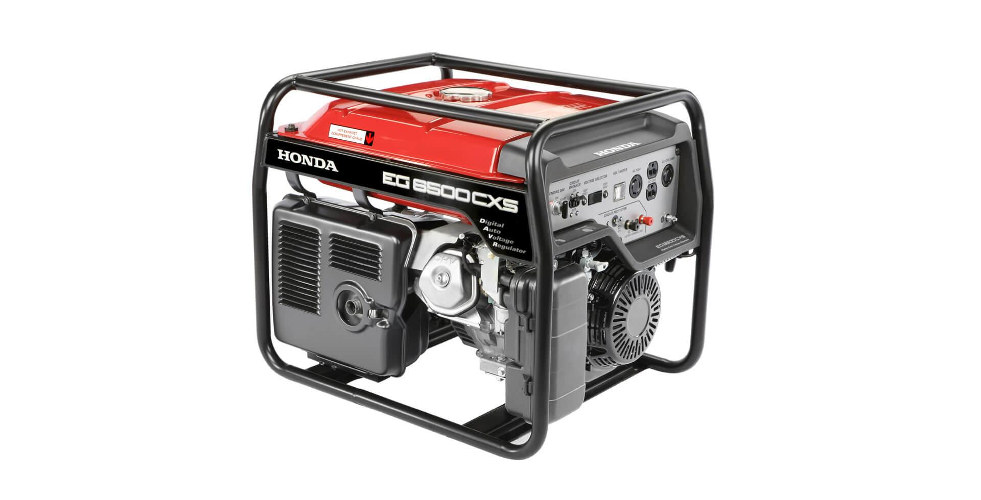 Gerador de Energia à Gasolina 6.5 kVA Honda - EG6500CXS LBH (Bivolt c/ Partida elétrica)