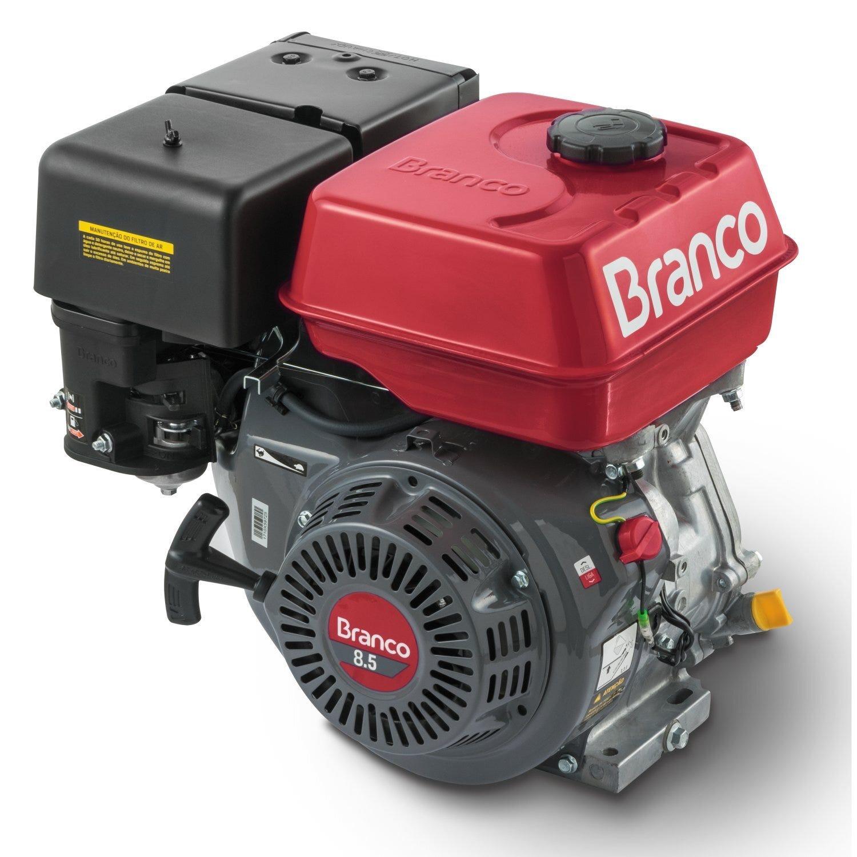 Motor à Gasolina 8,5cv 4 Tempos Estacionário BRANCO B4T8.5H (P.M)