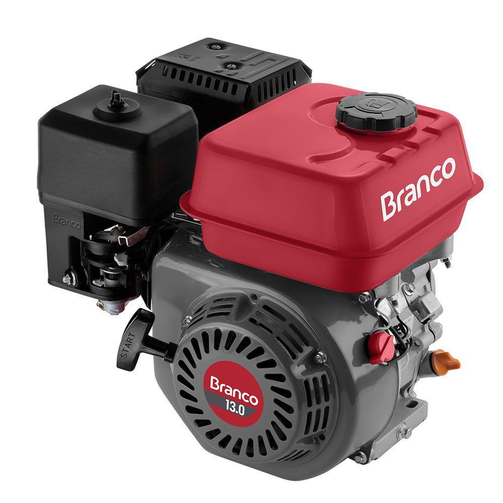 Motor à Gasolina 13Hp 4 Tempos Estacionário B4T13.0H BRANCO