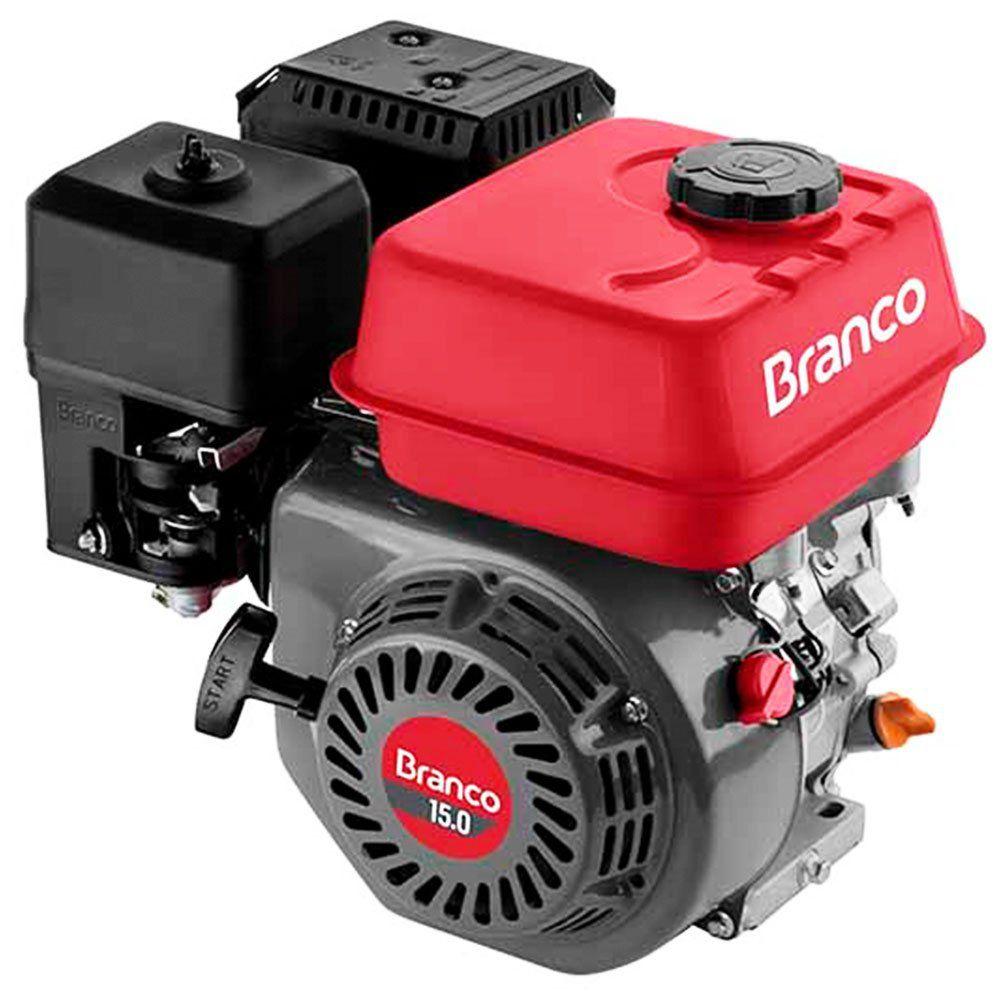Motor à Gasolina 15Hp 4 Tempos Estacionário BRANCO B4T15.0H