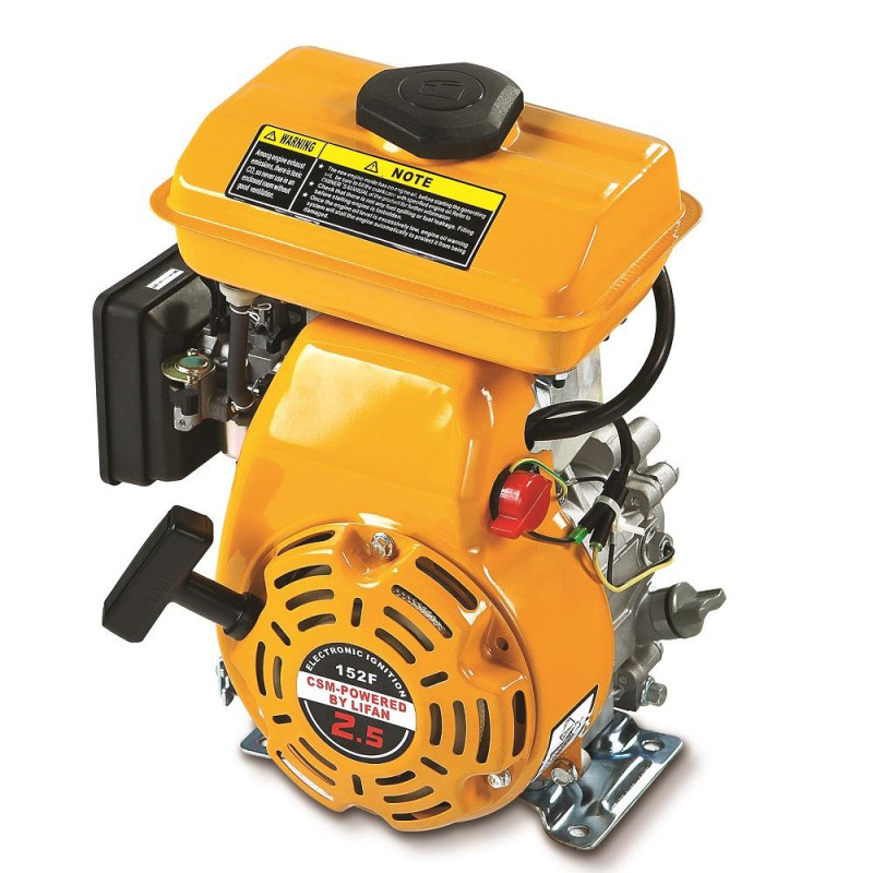 Motor Estacionário à Gasolina 4 Tempos 2,5 hp CSM / LIFAN