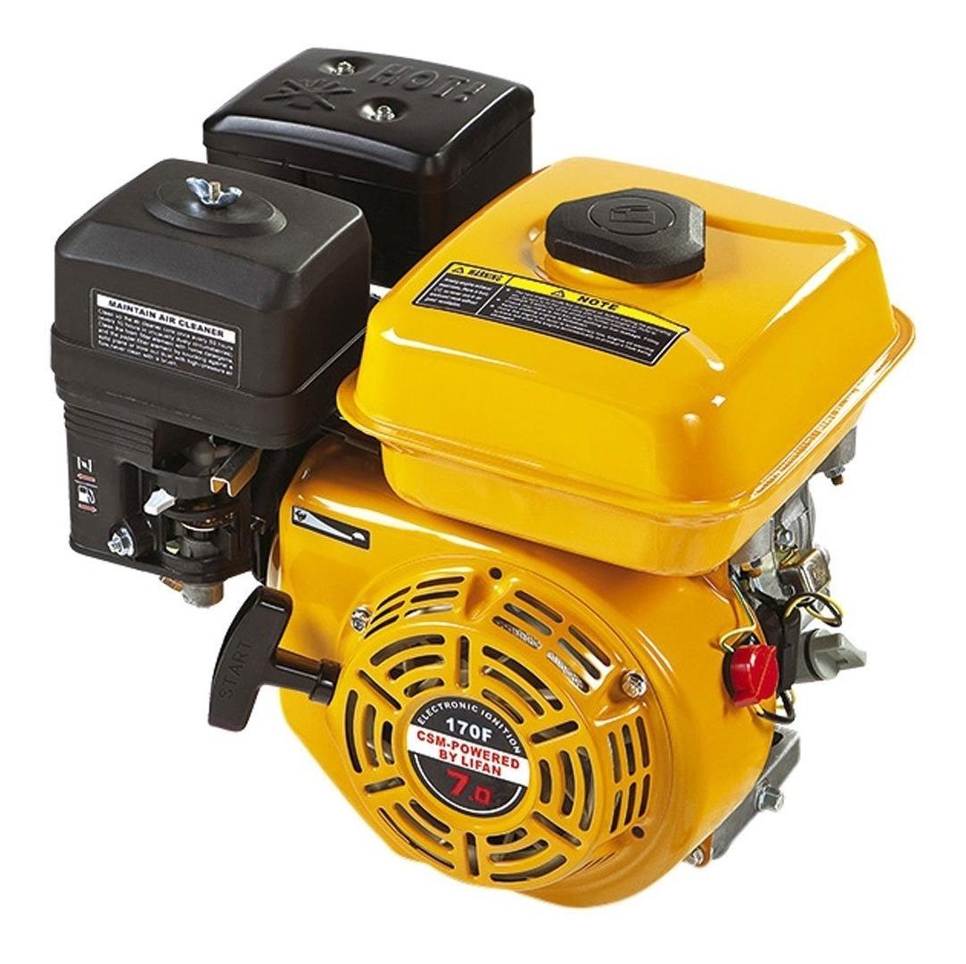 Motor Estacionário a Gasolina 7HP 4 Tempos 212cc CSM