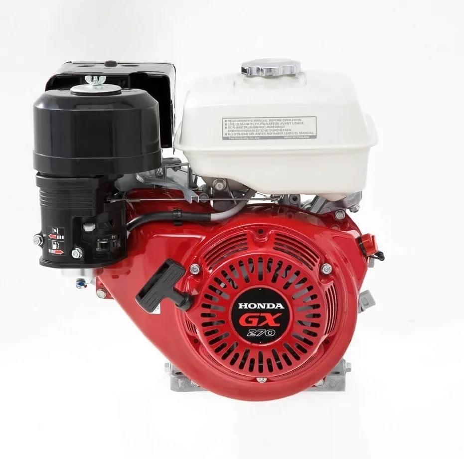 Motor Estacionário a Gasolina 9 Hp 4 Tempos Honda GX270HQDBR