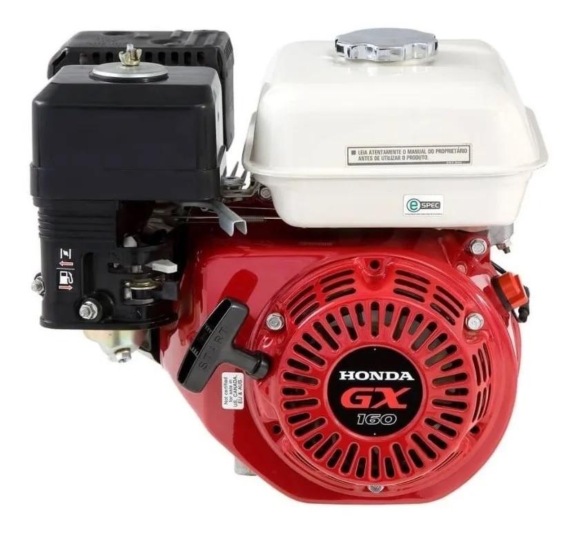 Motor Estacionário Gasolina 5,5 Hp 4 Tempos Honda GX160-QDBR