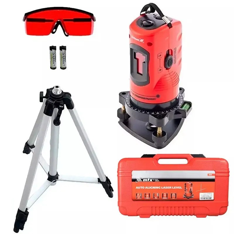 Nível à Laser 150mm com Tripé Auto Nivelamento com Maleta MTX-350339