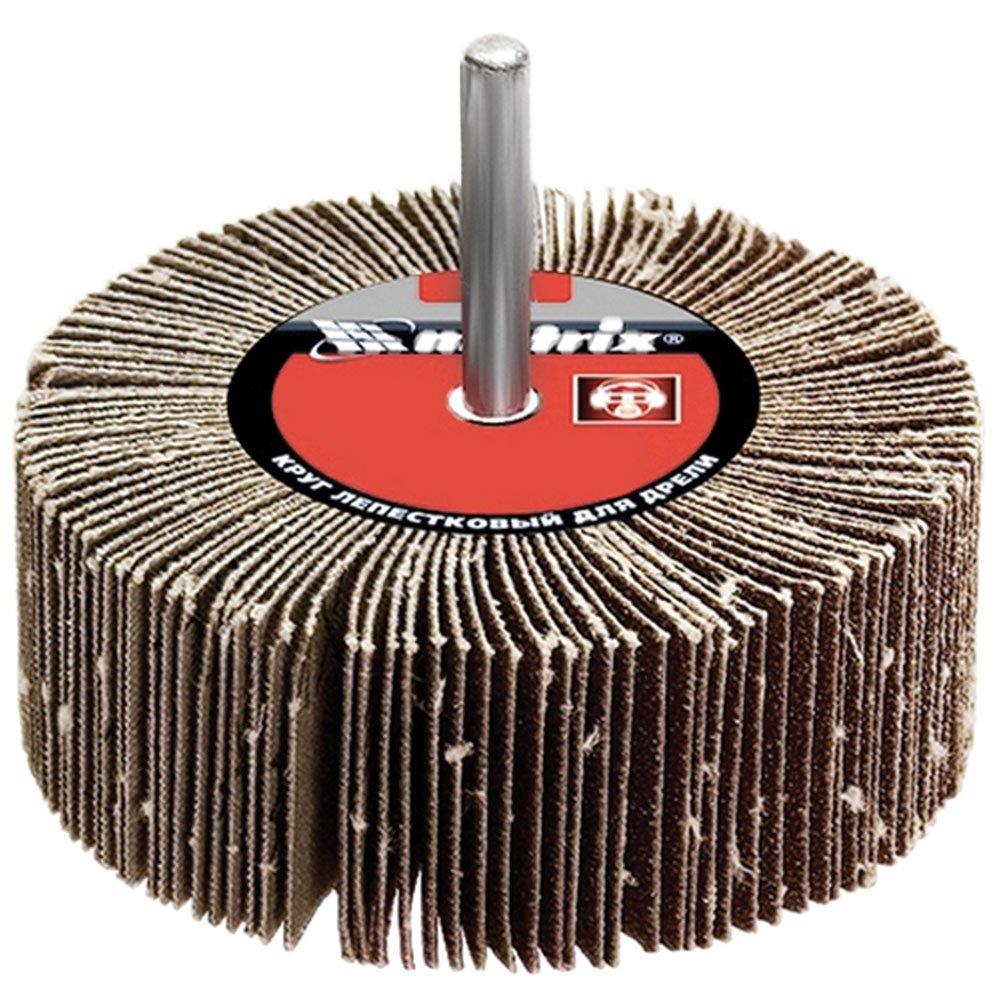 Roda de Lixa para Furadeira P40 60mm x 30mm MTX 741209