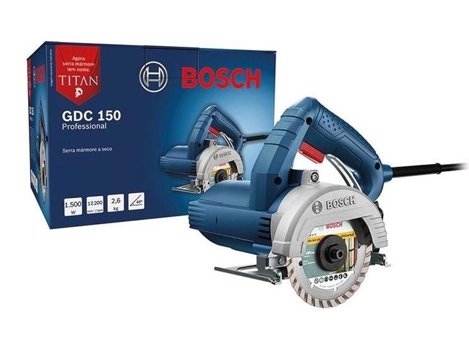 Serra Mármore 5 Pol. 1500w 220v BOSCH TITAN GDC-150