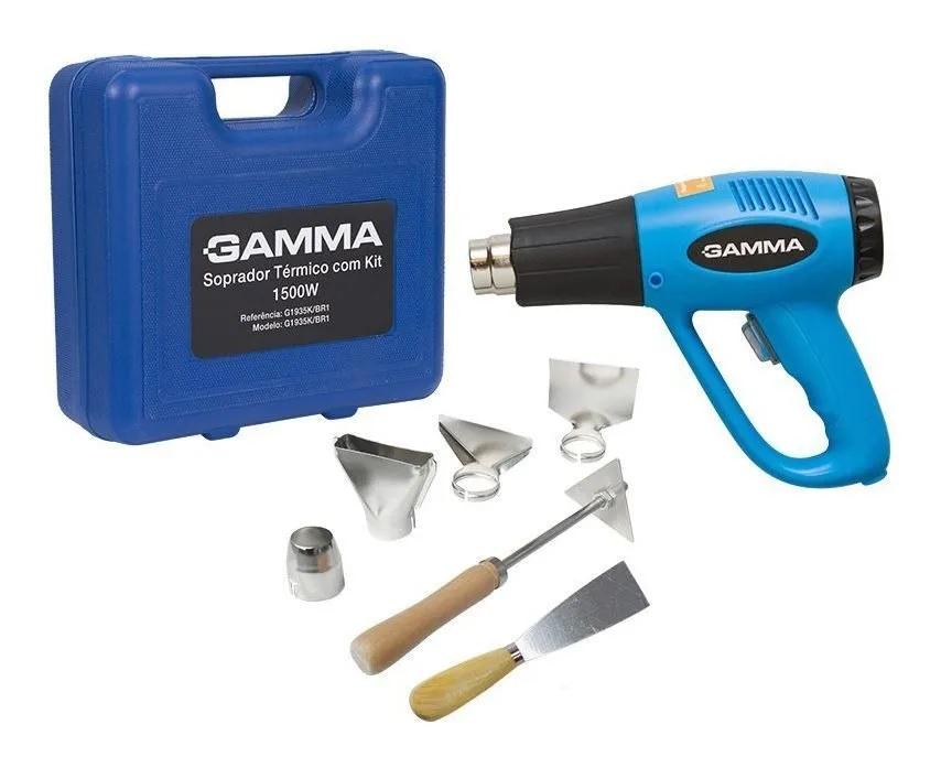 Soprador Térmico 2000w 220v com Maleta e Acessórios GAMMA G1935K/BR2