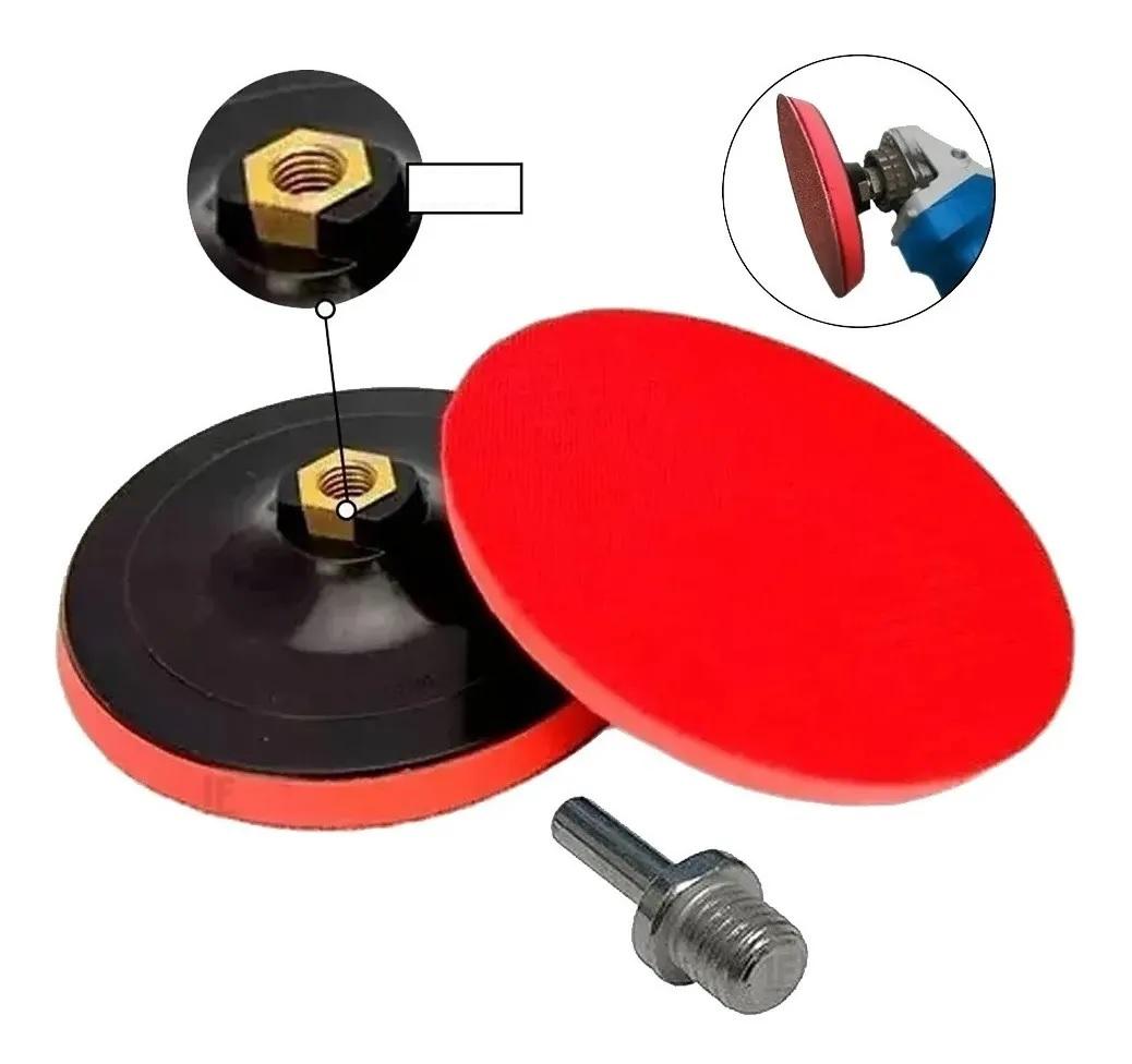 Suporte para Disco de Lixa com Velcro 115mm MTX 762189