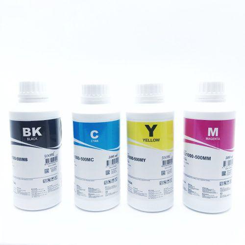 Tinta Corante Inktec Epson Para Bulk Ink E Ecotank 500ml X4