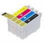 Kit Cartucho Compatível Epson XP 231 XP 431 T297 T296 | T-2971 T-2962 T-2963 T-2964