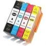 Cartucho Compatível H 564xl - Kit 4 cores