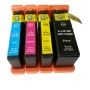 Cartucho Compatível Lexmark 100 / 105 / 108 - Kit 4 cores
