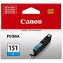 Cartucho de Tinta Original Canon Pgi 151- AZUL