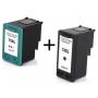 Kit Cartucho Compatível HP 74xl / Cb336 black / + 75xl / Cb338 Color