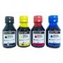 Kit de Tinta Corante Gold Ink Para Ecotank Epson 04 Cores - 100 Ml
