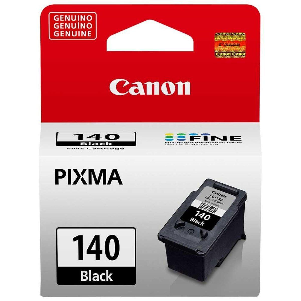Cartucho Canon 140 Preto Original 8 ml