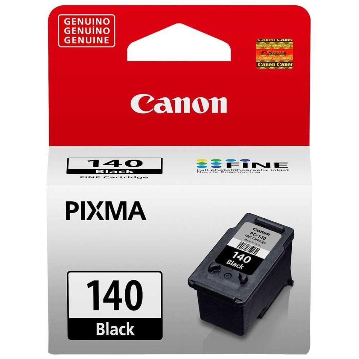 Cartucho Canon 140 Preto Original 8 ml
