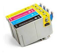 Cartucho Compatível Epson C67 C87 CX4700 - 631 Preto / 632 color