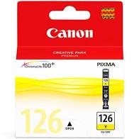 Cartucho Original Canon CLI 126 - Amarelo