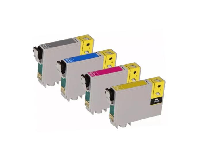 KIT CARTUCHO COMPATÍVEL EPSON C67/ C87/ CX3700/ CX4100/ CX4700/ CX5700/ CX7700