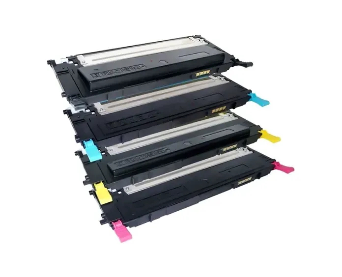 Kit Toner 4 Cores Compatível Samsung Clt-407 / Clp325/ Clp325w/ Clp320/ Clp320n