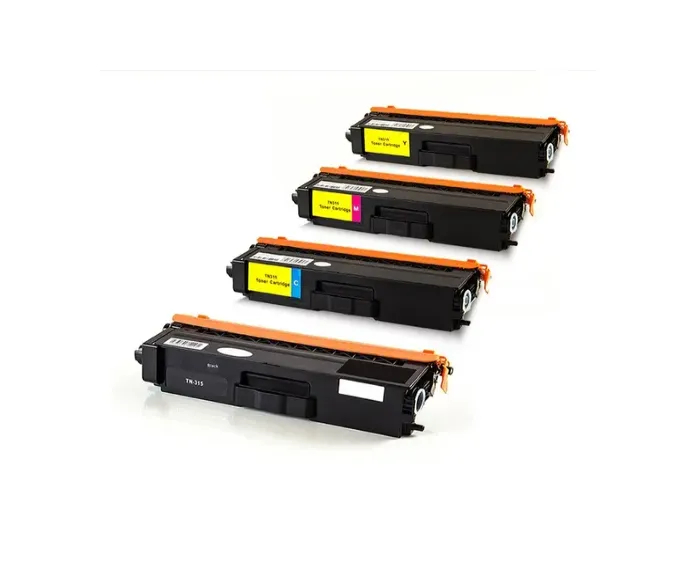 Kit Toner Compatível Brother Tn310/ 315 Para impressora Hl4150cdn /4570cdw /9460cd