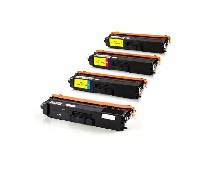Kit Toner Compatível Brother Tn310/ 315 Para impressora Hl4150cdn /4570cdw /9460cd