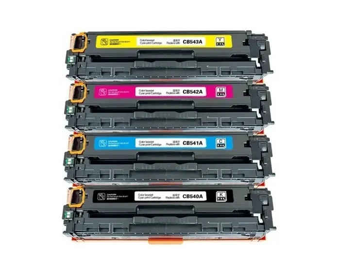 Kit Toner Compatível Hp Cb540/ Cb541/ Cb542/ Cb543/ Cm1312/ Cp1215