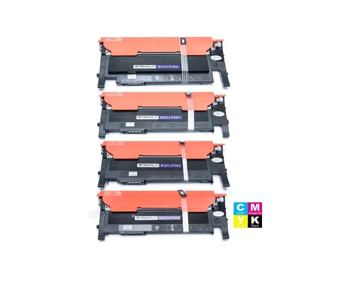 Kit Toner Compatível Samsung  406s/ 406 /Clt-406s black e Color