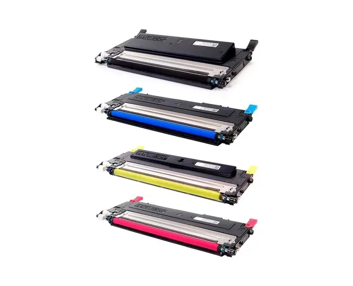 Kit Toner Compatível Samsung CLT-K409S/ CLT-C409S/ CLT-M409S/ CLT-Y409S