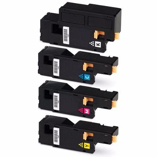 Kit Toner Compativel Xerox Phaser 6000 6010 6015 04 Cores
