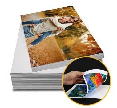 Papel Fotográfico Glossy Dupla Face A4 180 gr 100 Folhas