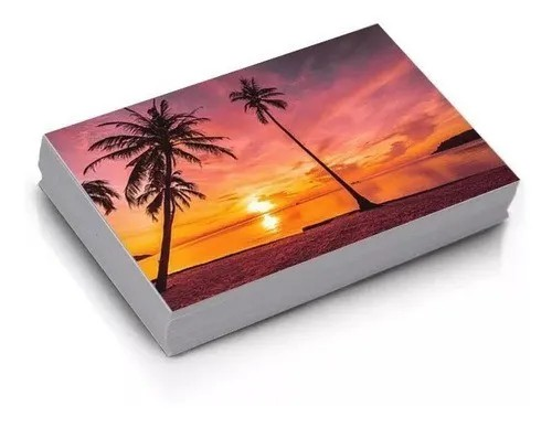 Papel Fotográfico Microporoso Glossy 260 gr 10x15 100 folhas