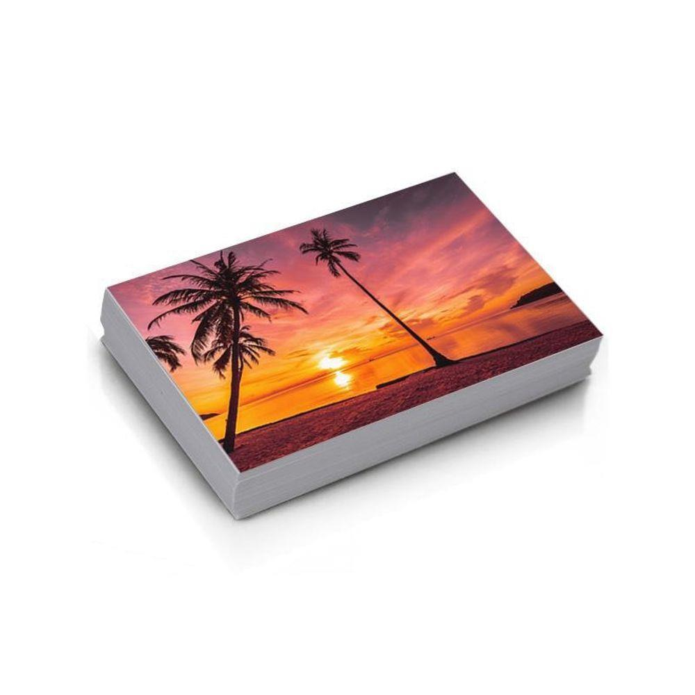 Papel Fotográfico Microporoso Glossy 260 gr 10x15 1500 folhas