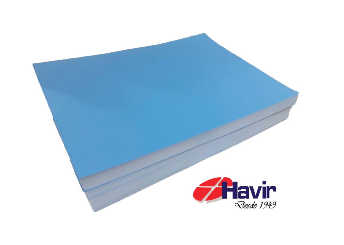 Papel Sublimatico Havir A3 Azul 100 Folhas
