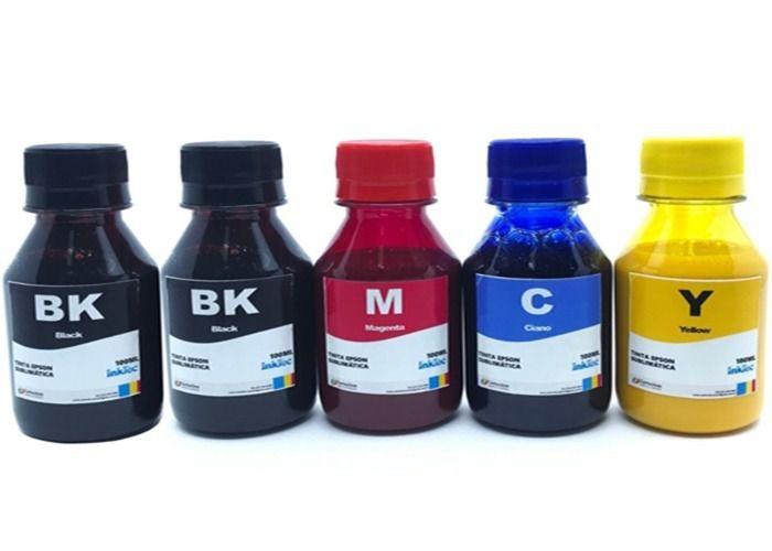 Tinta Sublimatica Inktec para Epson - Kit 5 Cores