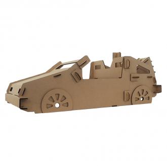 Carro de Papelão - Modelo D