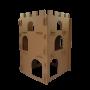 Castelo de Papelão para Gatos